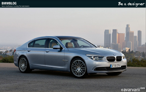 Be A Designer BMW 7 Series 01