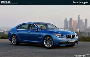Be A Designer BMW 7 Series 05