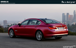 Be A Designer BMW 7 Series 12