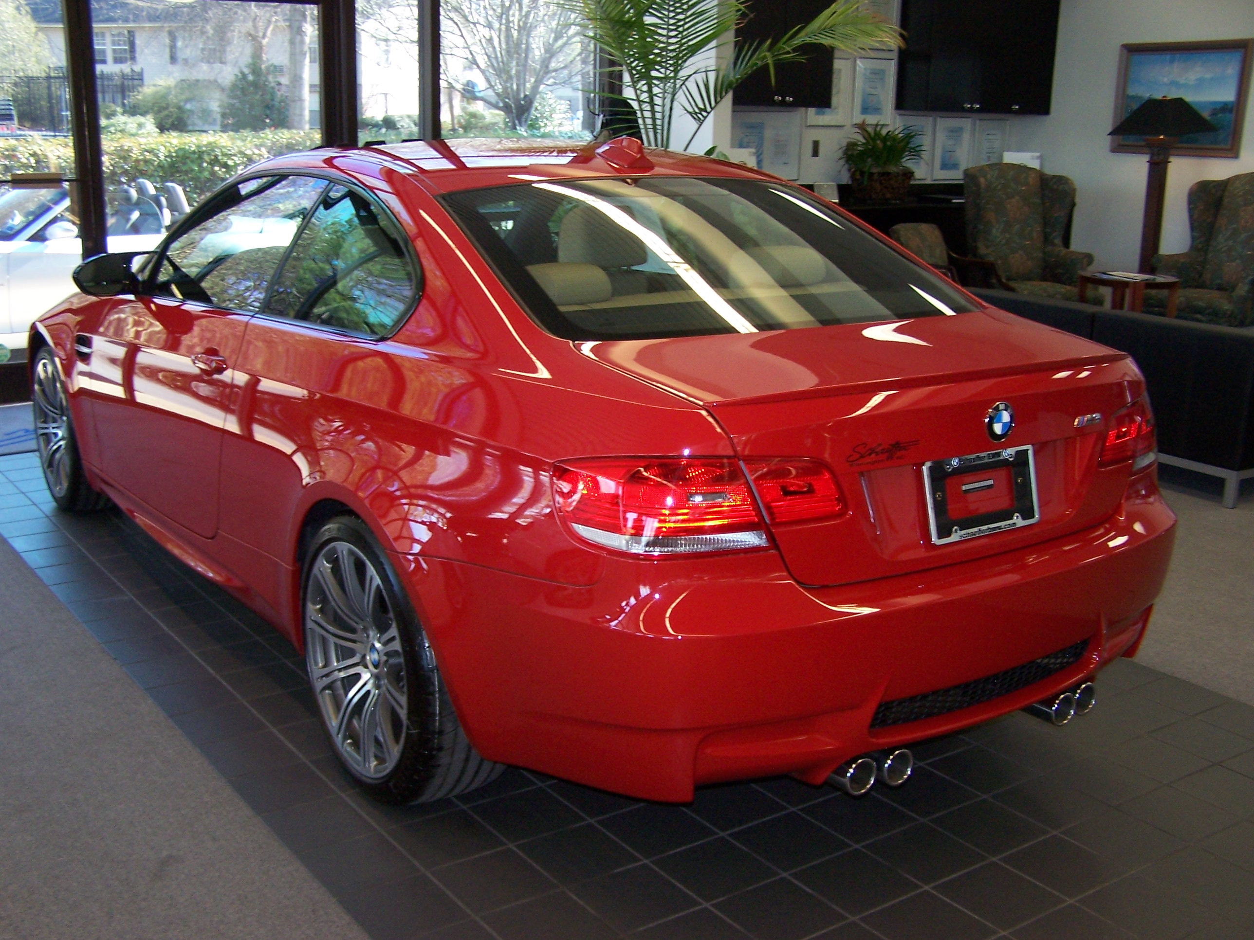 2008 BMW E92 M3 available at the U S dealerships