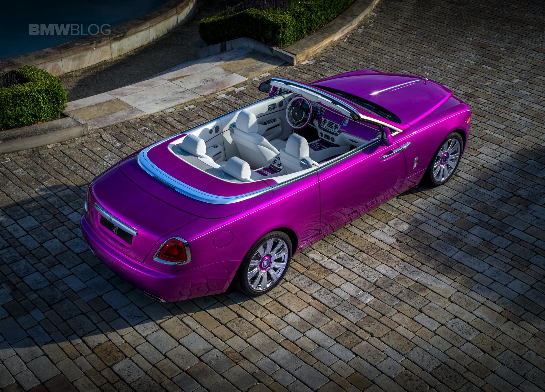 """Rolls Royce """"Dawn in Fuxia"""" 02"""