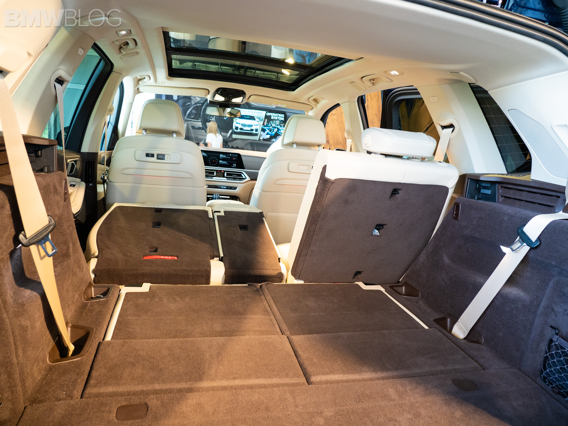 BMW With 3Rd Row Seating >> First Look At The Third Row Seat In The New Bmw X5