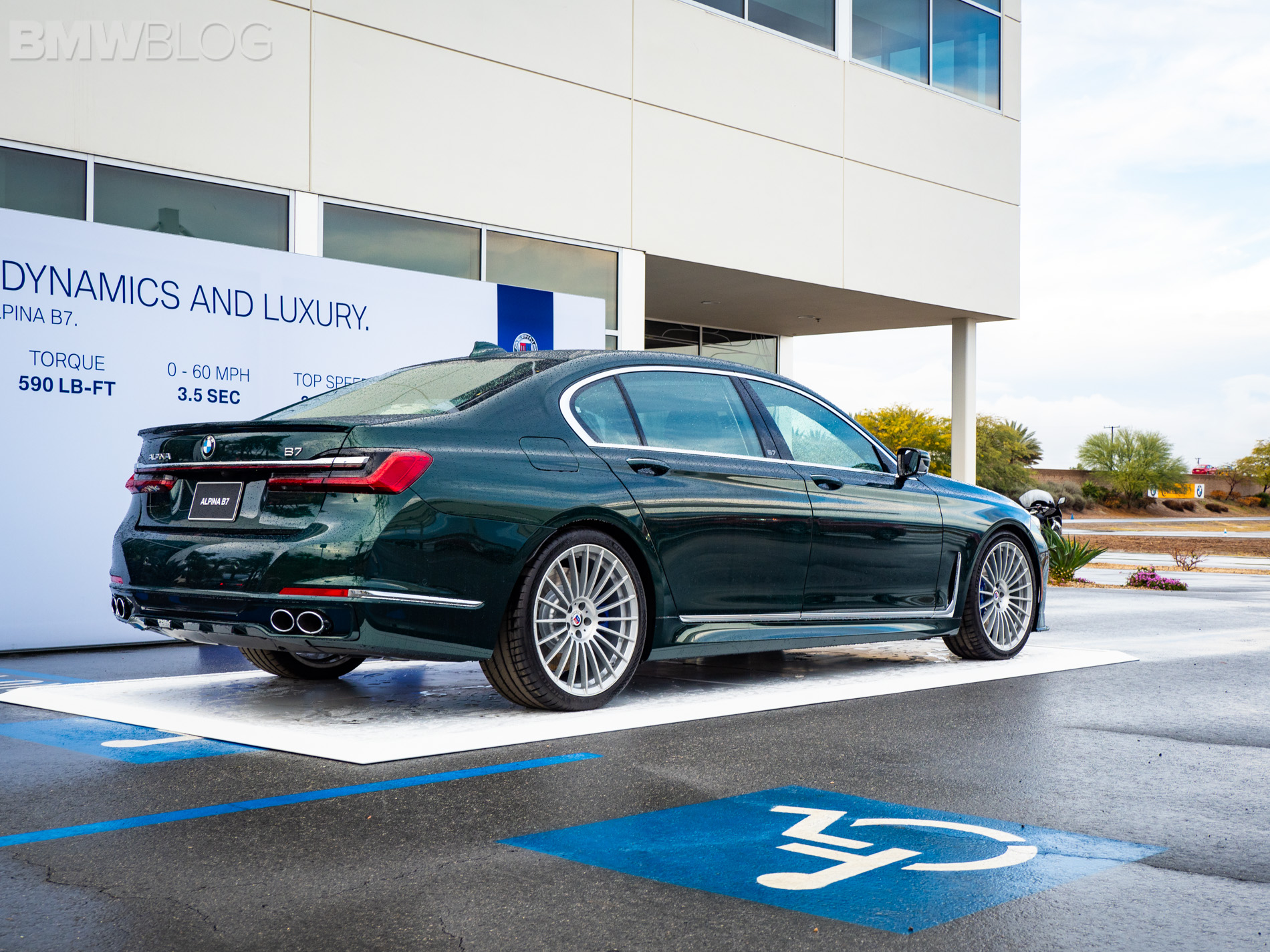 More Real Life Photos Of The Stunning 2020 Alpina B7 In Alpina Green