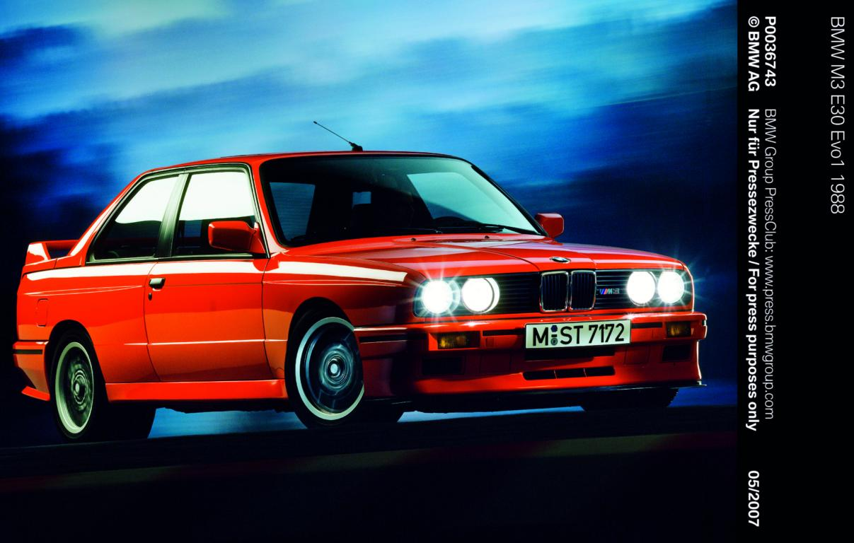 From E30 to E92: 25 years of BMW M3 history
