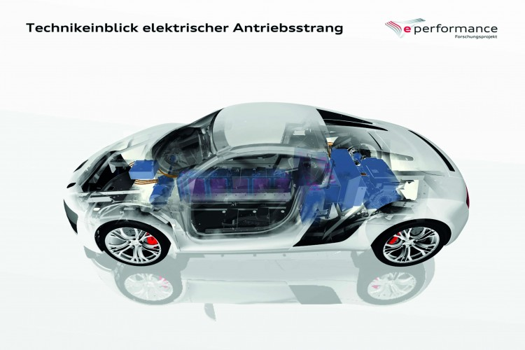 Audi R8 e performance 750x500 Will Audi's Push Force BMW's Hand In The Electric Car Market?