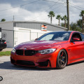 BMW F82 M4 – BC Racing Prototype Coilover Testing