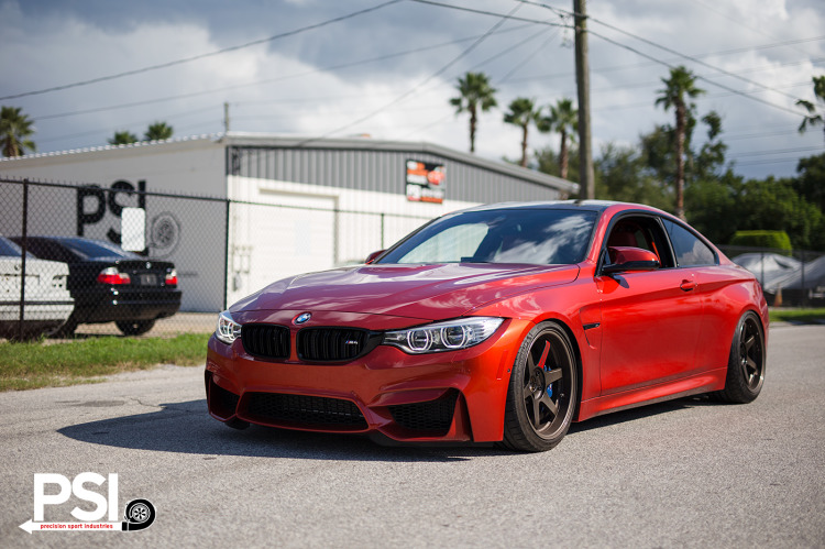 BMW F82 M4 – BC Racing Prototype Coilover Testing 4 750x499