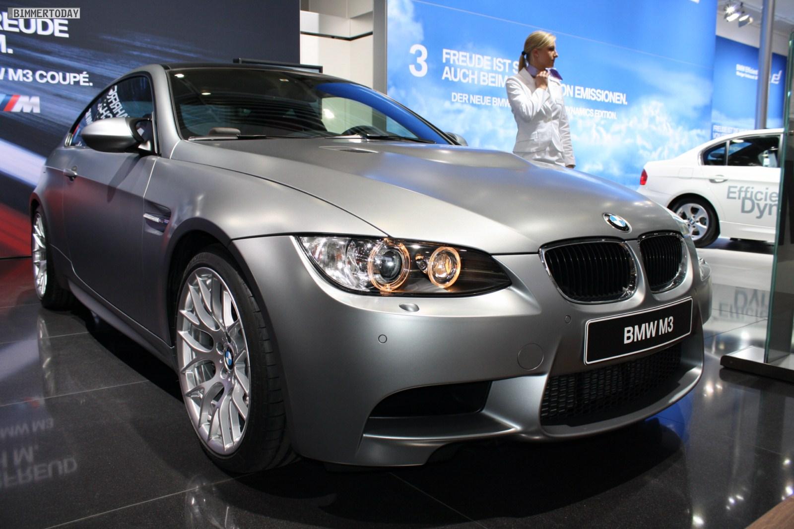 2010 leipzig auto show: bmw m3 coupe in frozen grey metallic