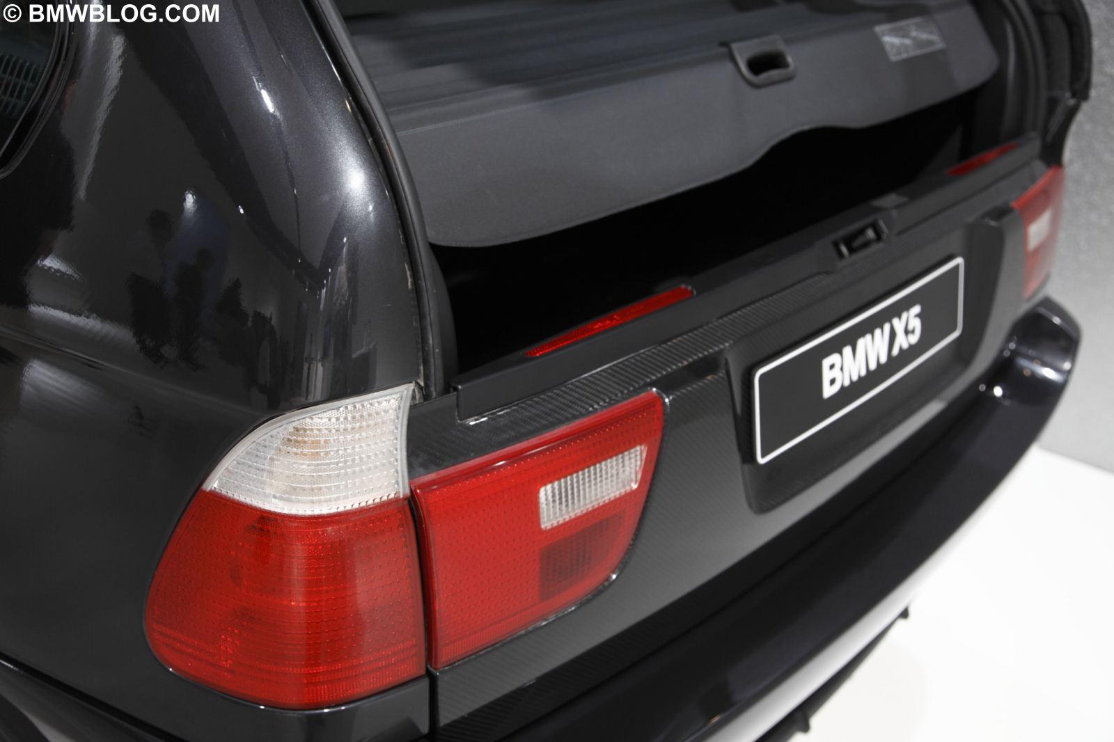 Exclusive Bmw X5 With Carbon Fiber Unibody